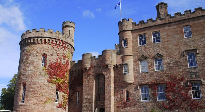 Dalhousie Castle, Scotland.