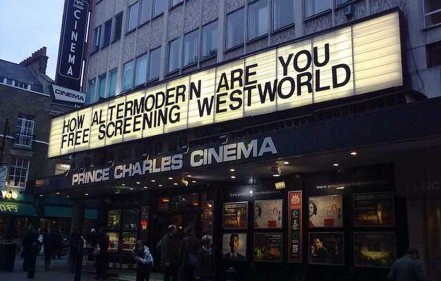 The Prince Charles Cinema is one of the quirkiest cinemas in London