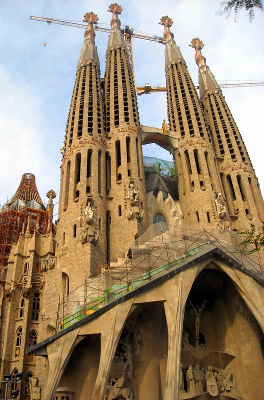 Designed by Antoni Gaudí, Sagrada Familia is one of the most famous churches in Spain, an unfinished masterpiece which began construction in 1882 and is scheduled to finish in 2026.