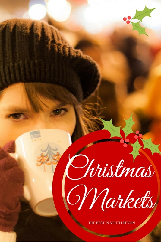 With Christmas fast approaching, over the coming few weeks there are numerous markets and events taking place across South Devon, making this Area of Outstanding Natural Beauty the perfect holiday destination for a last minute Christmas shopping break!