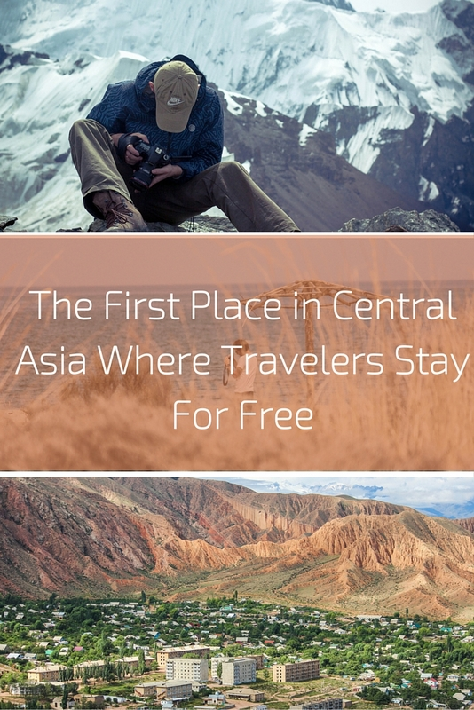 """""""Home for Travelers"""" is a place where travelers can stay and rest for free, immerse themselves into local Kyrgyzstan life, and learn more about the local culture and people."""