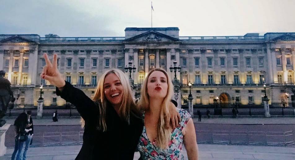 Jessica Abbey and Freya Bernsten