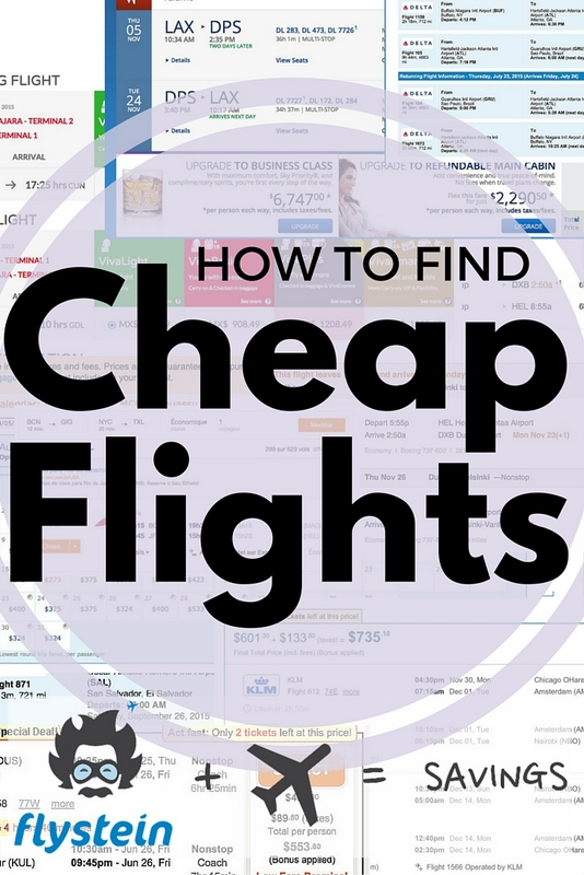 The team of travel experts at Flystein are ninjas at hacking flight prices.