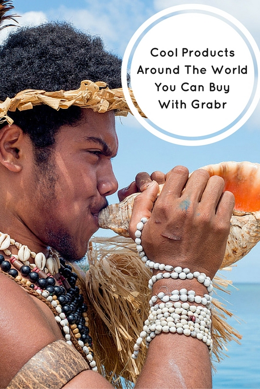 Grabr is a place where you can shop for hard-to-find goods from an exotic corner of the globe. Authentic goods you can't get internationally. Perhaps something handcrafted that you saw on a trip to Africa and are kicking yourself for not having brought home.
