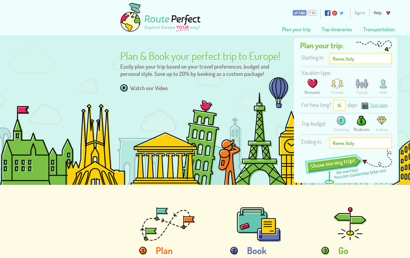 how to plan your europe trip