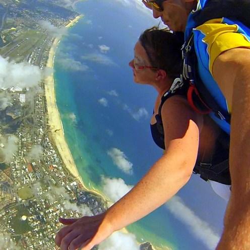 Gold Coast Skydive over Kirra Beach