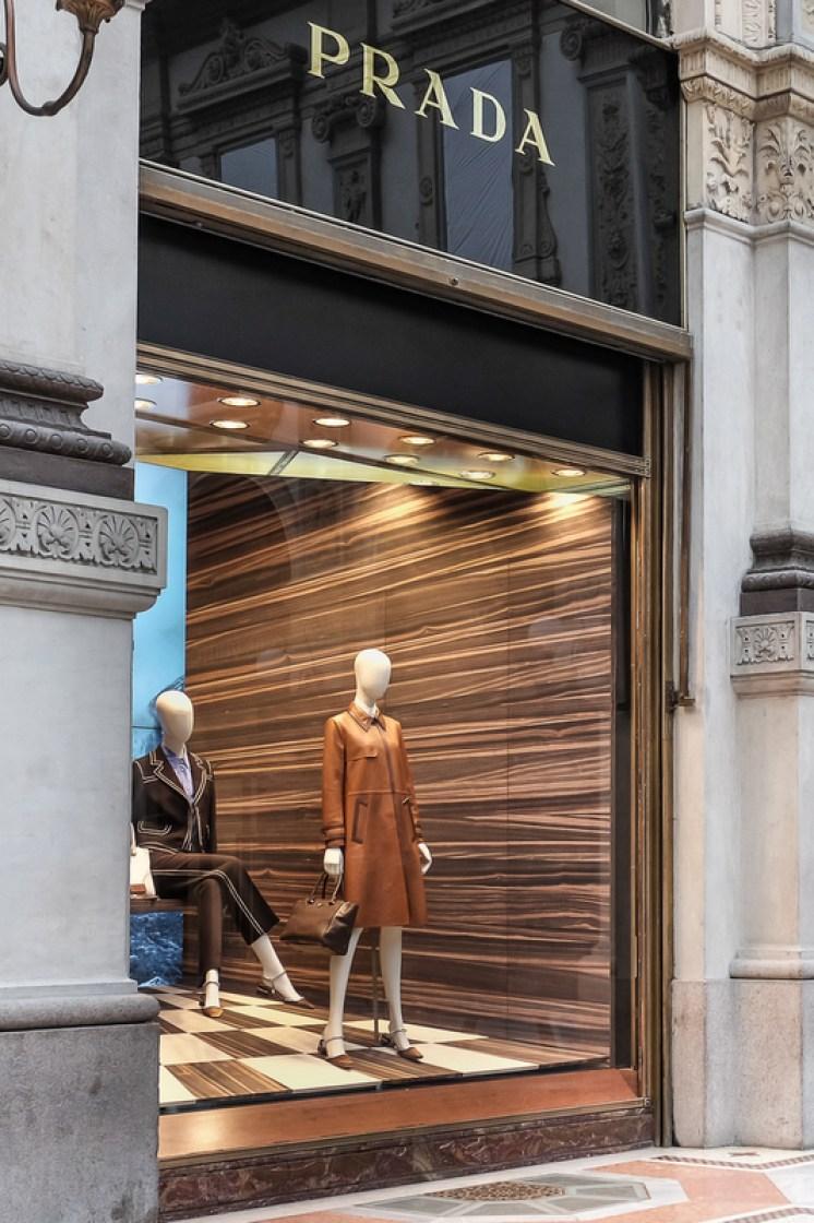 Milan lays claim to the world's first Prada store.