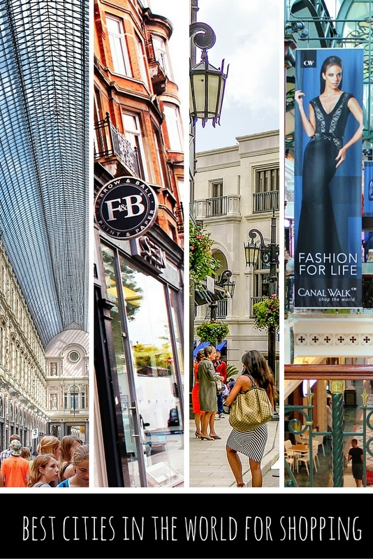 Yes, shopping is a sport. And some cities offer shoppers a variety of options. So, where are the top shopping destinations around the globe?