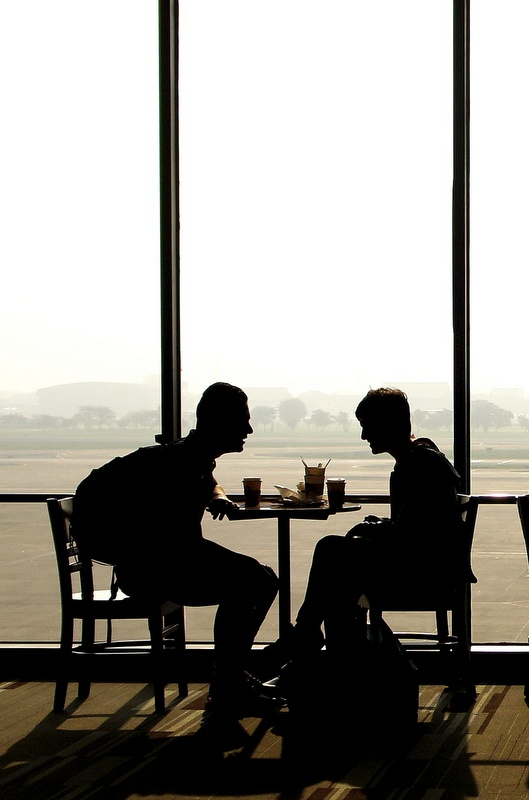 Vaping is allowed in the terminal at a number of airports. In the UK if you're departing from Heathrow, vaping is actually permissible as far as the gate.