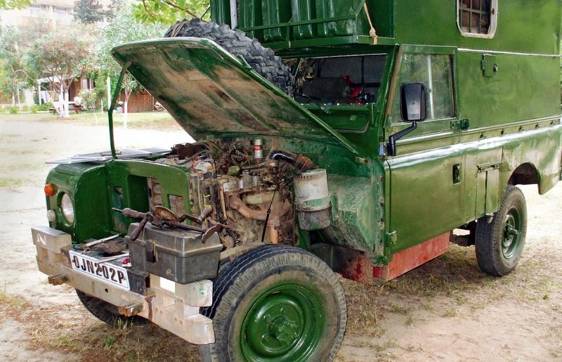 The Land Rover Matilda