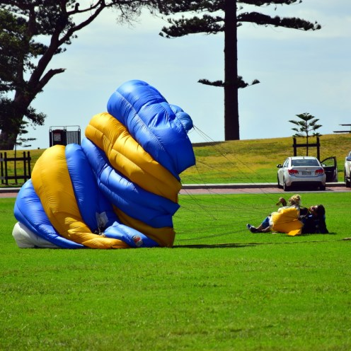 The drop zone for Sydney's only beach skydive is located in Wollongong, just one hour south of Sydney CBD (they provide free return bus transfers every day of the week).