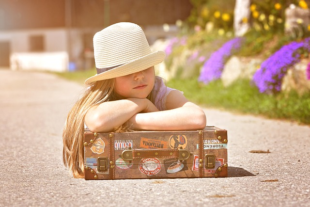 If your airline allows children to take hand luggage, by all means make use of it.