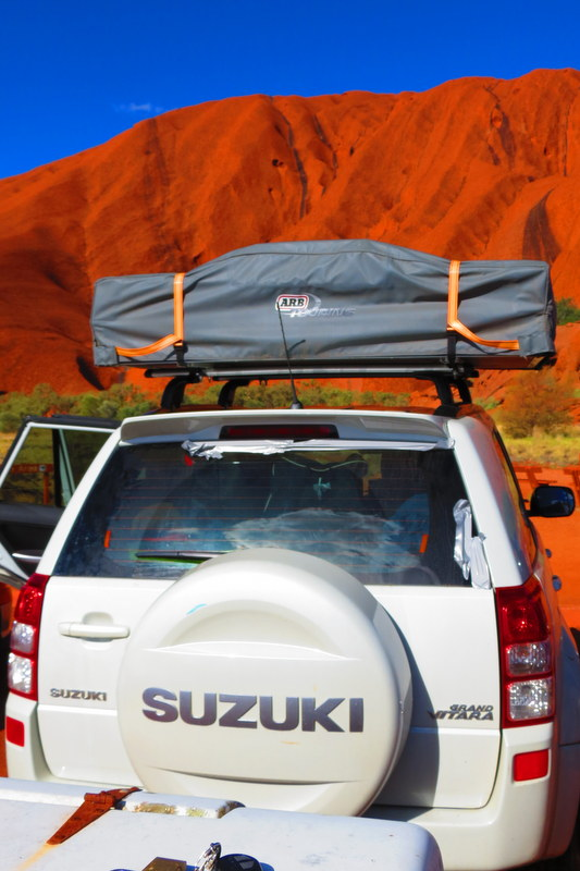 Roadtrip to Uluru Australia