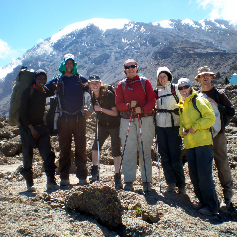 Kilimanjaro is a social journey, and your group is there with you you every step of the way.