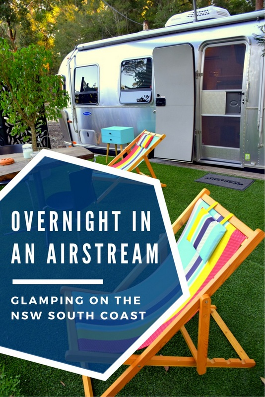 For those who have ever wanted to spend a couple of nights in an iconic Airstream travel trailer, a new glamping experience awaits you on Australia's NSW South Coast.