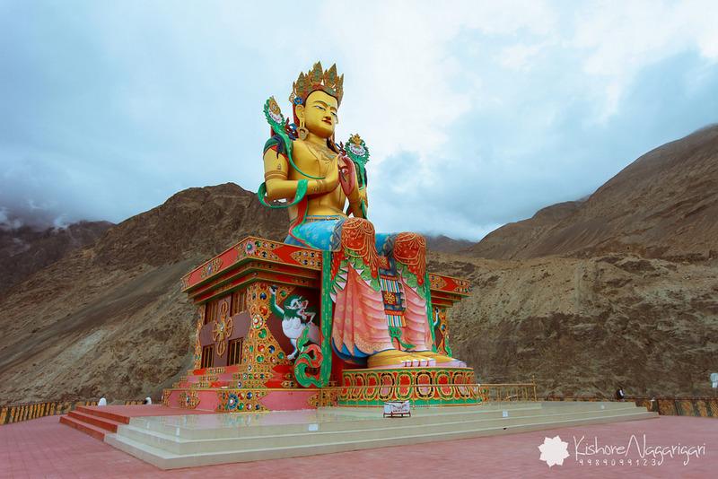 32 m tall statue of Maitreya Buddha