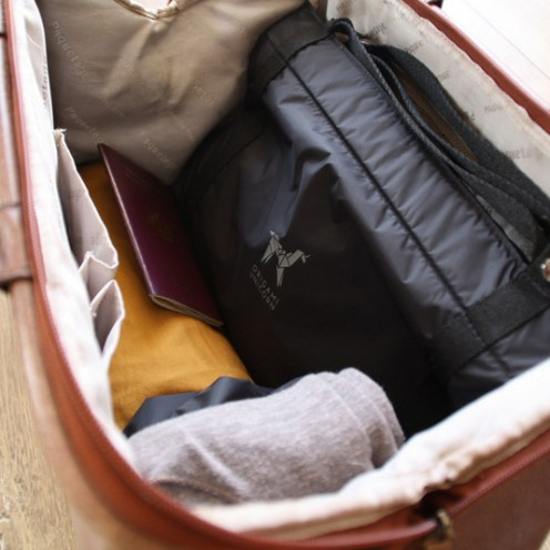 Fits comfortably in your carry-on.