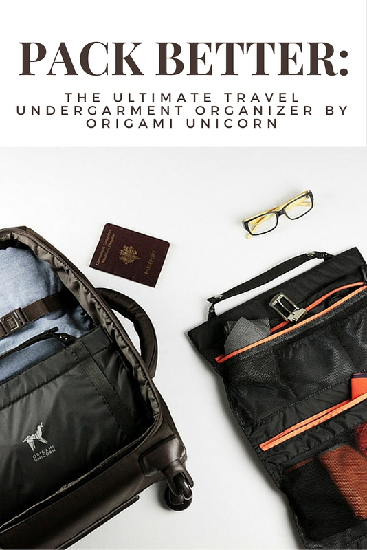 """There are plenty of products out there aimed at keeping travelers organized and simplifying the packing process, though a far as I'm concerned, """"TUO"""" by Origami Unicorn stands out above the rest."""