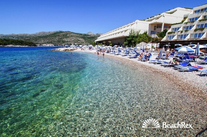 President Hotel Beach, Dubrovnik