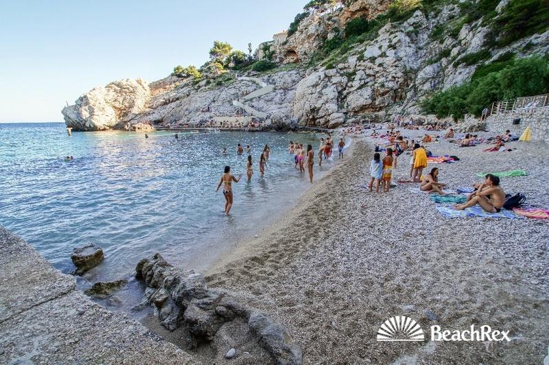 Beach Bellevue, Dubrovnik