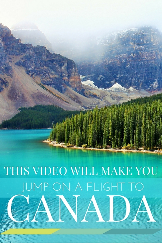 This is the best of Canada in three minutes. I guarantee after watching it you'll be convinced to jump on a flight!