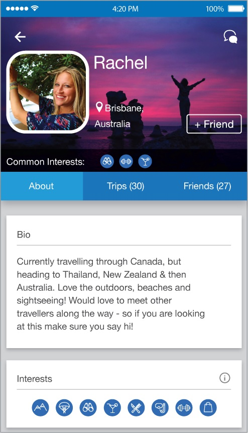 Travello - the app where travelers connect