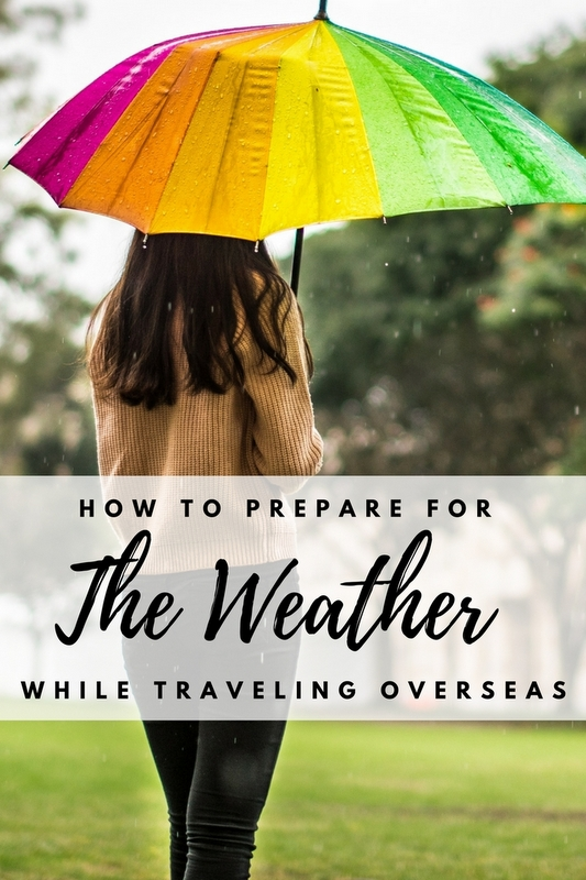 Weather is the single factor most likely to affect your trip positively or negatively, though it's also one of the things most travelers take for granted.