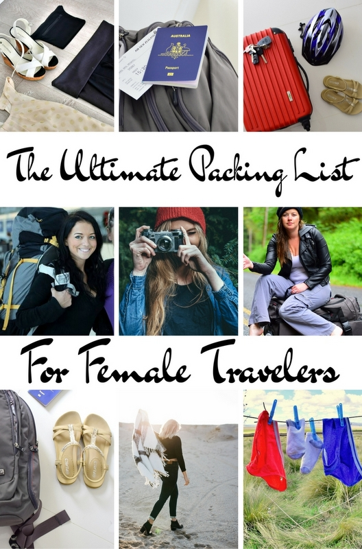 The Ultimate Packing List for Female Travelers