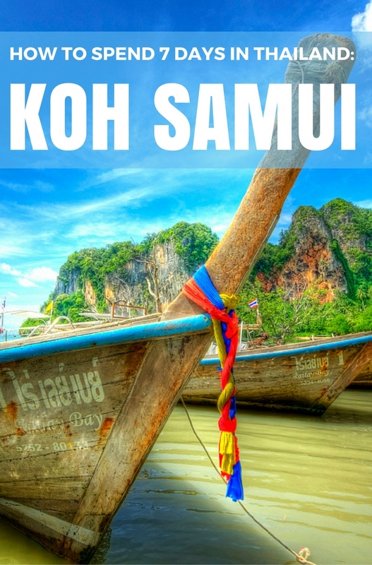 Situated in the Gulf of Thailand, the beautiful island of Koh Samui it is now one of the most popular tourist destinations in the country. Here's a guide to activities which will keep you busy for at least 7 days!
