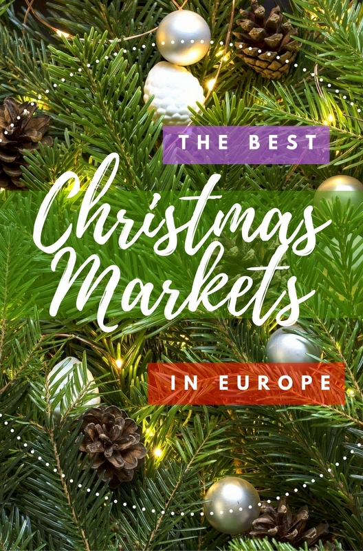 Outdoor Christmas markets line main squares in all major cities across Europe. These are some of the best markets to visit this year.
