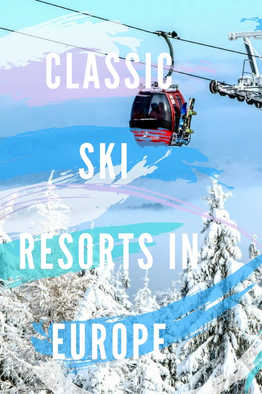 If you're planning on hitting the slopes this winter, Europe is home to some of the World's most iconic ski resorts.