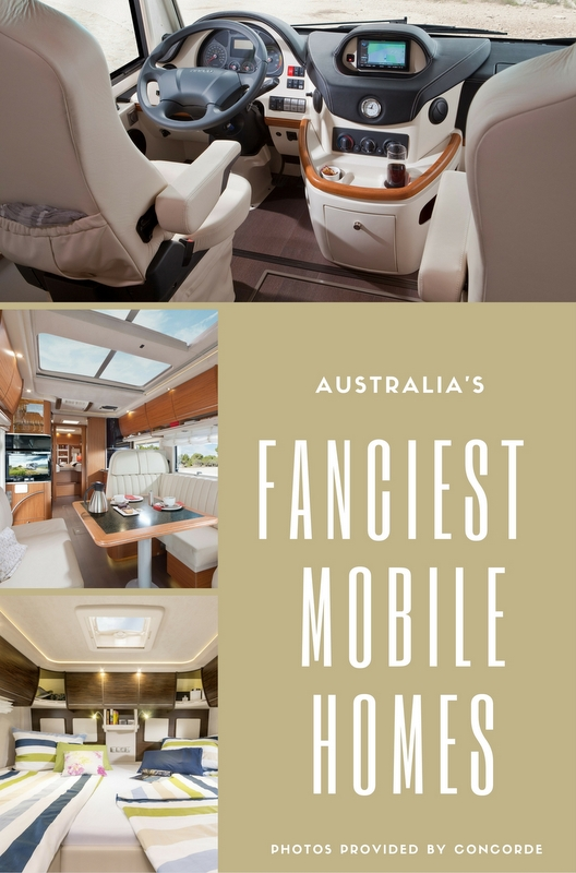 We've compiled this guide to the fanciest mobile homes the Aussie dollar can buy. Whether you're buying or hiring, take a look and see what we mean – you might just be surprised!