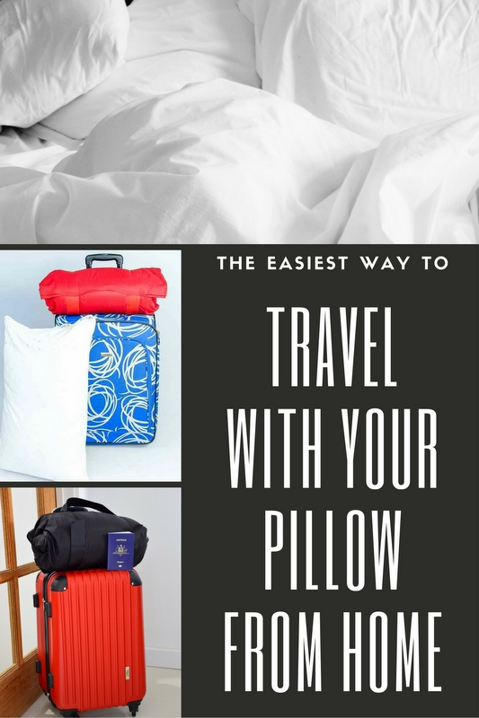 Best way to travel with your pillow