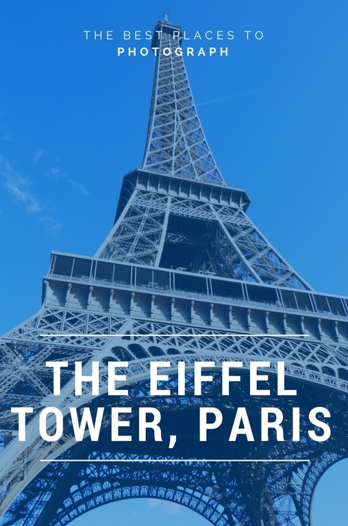 The following are great photography locations for shooting the Eiffel Tower. Head here if you're looking to travel like a photographer and not a tourist.