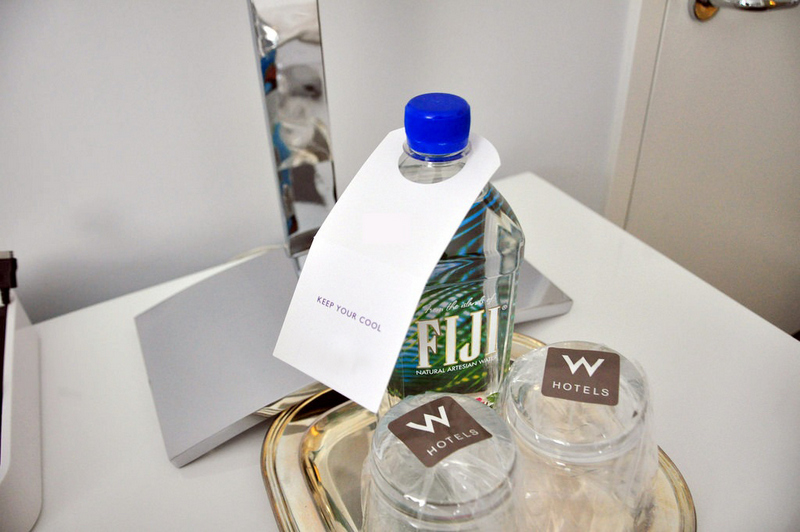 Hotel bottled water