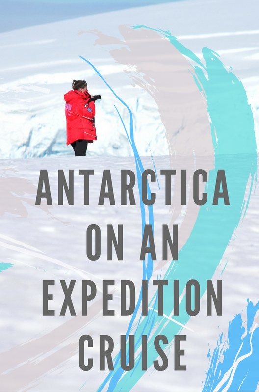 For me to travel to Antarctica, I was only ever going to go on an expedition cruise