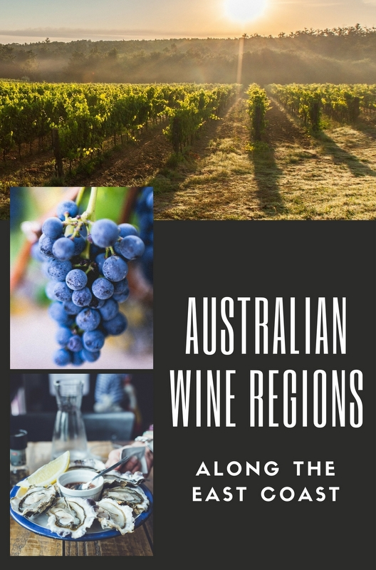 While the largest wine production region is South Australia, and Western Australia receives similar fame, don't discount wine regions along the East Coast. Remember these names!