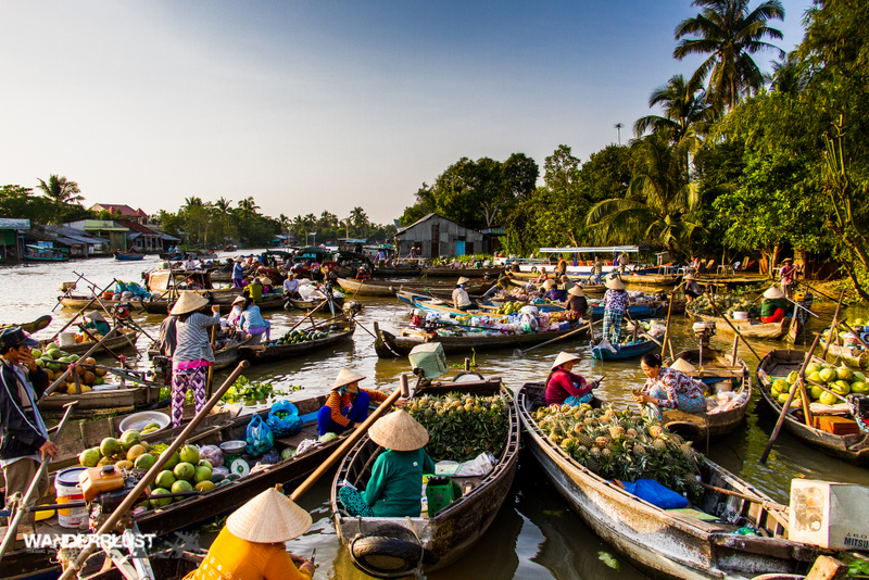 Can Tho Floating Markets by Hugh Derr
