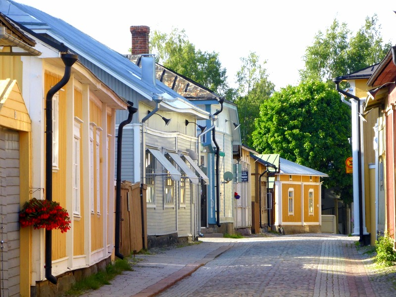 In the steets of Old Rauma