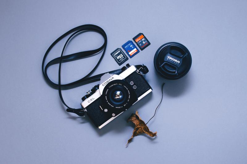 Camera photo RF