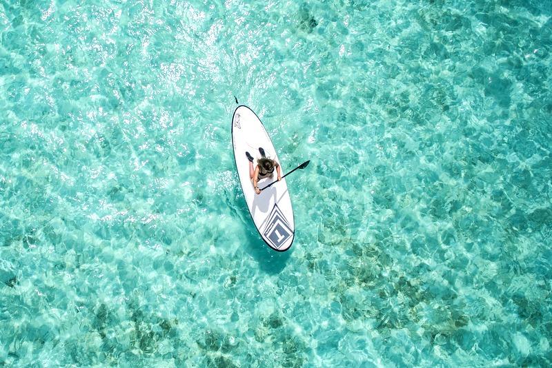 Paddleboarding watersports