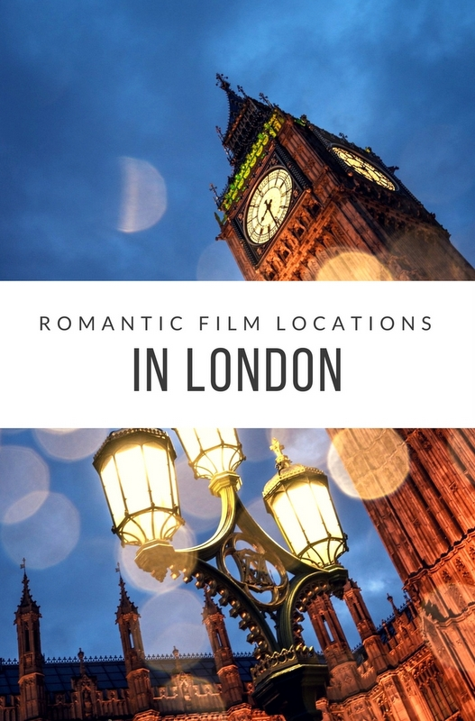If you're considering a romantic break in London, why not take in some of these well-known movie locations?