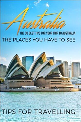 Australia travel guide Amazon book