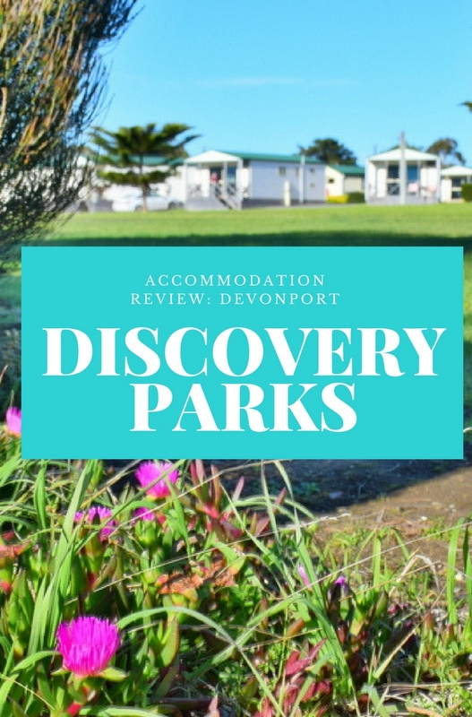 Discovery Parks Devonport – a fully furnished cabin style apartment with ocean views would be our base for discovering Tasmania's incredible North West.