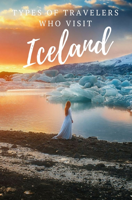 A great guide to the types of travelers who visit Iceland - find out is this is a country for you!