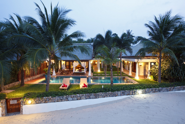 Is This the Most Beautiful Beach Front Villa in Thailand?