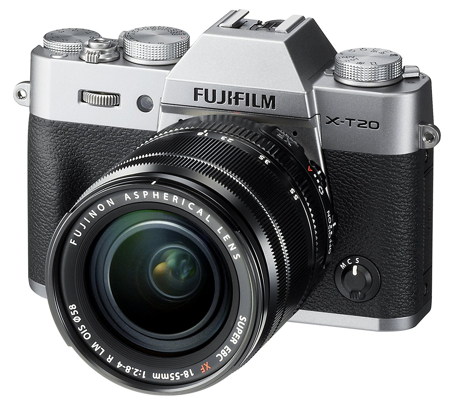 The Fuji X-T20 uses a 24MP X-Trans CMOS III sensor, which delivers gorgeous, vibrant, clean and crisp images that rival even the best dSLR cameras.