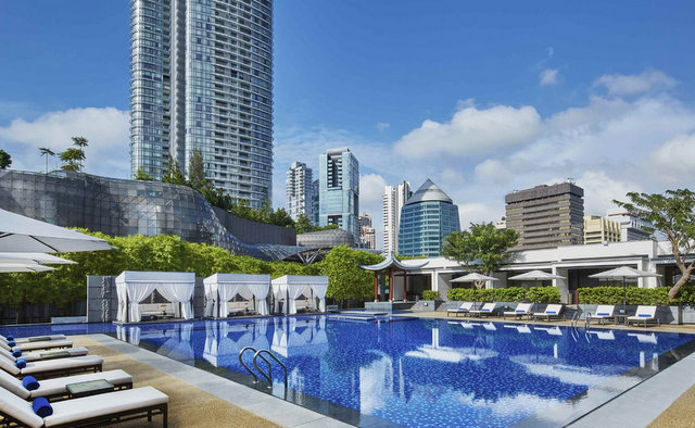 Arising from Orchard Road like a beacon, Marriott Tang Plaza Hotel is one of the best located hotels in Singapore