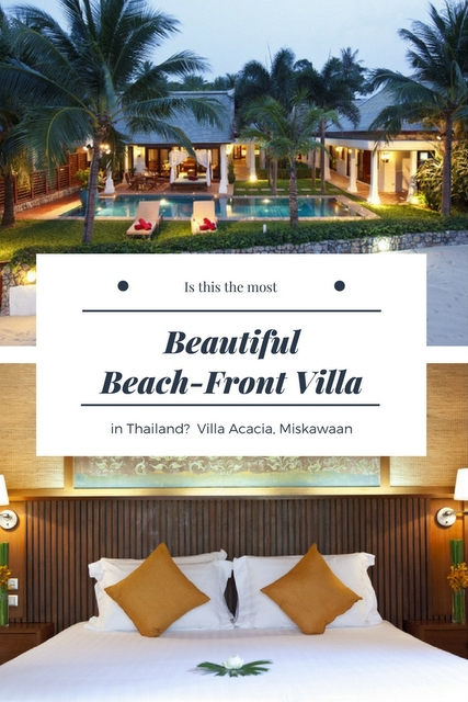 Koh Samui is THE place for a luxury Thai getaway, and has become the island with the most stunning beachfront resorts. We may have found the best one!