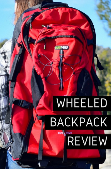 A practical wheeled travel backpack, with the versatility of a zip-off daypack and generous internal space.